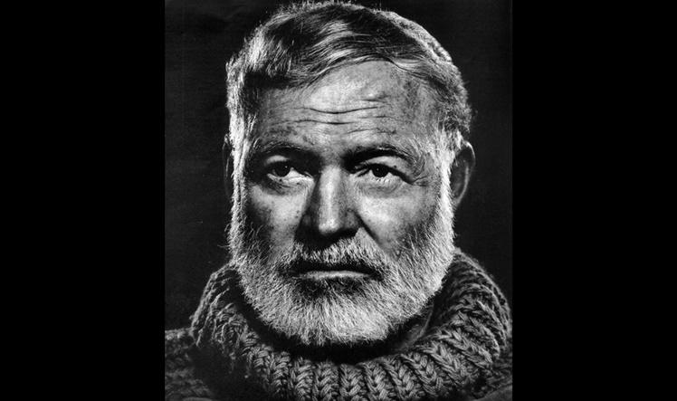 Ernest Hemingway: Novela »The Sun also Rises», traducida al castellano como »Fiesta».