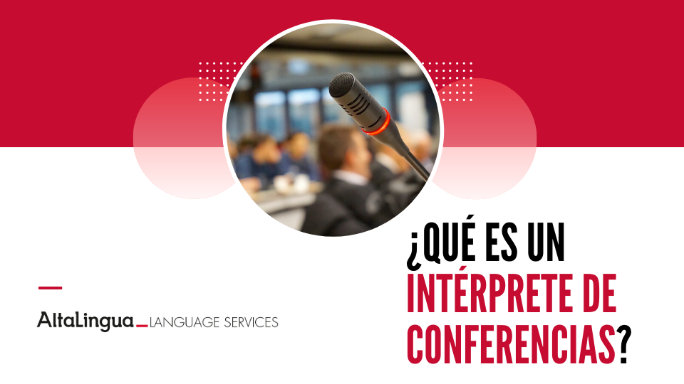 Intérprete de conferencias