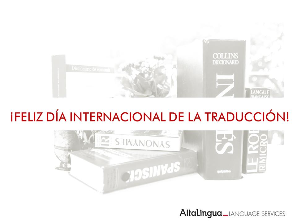 FELIZ DÍAINTERNACIONAL DE LA TRADUCCIÓN