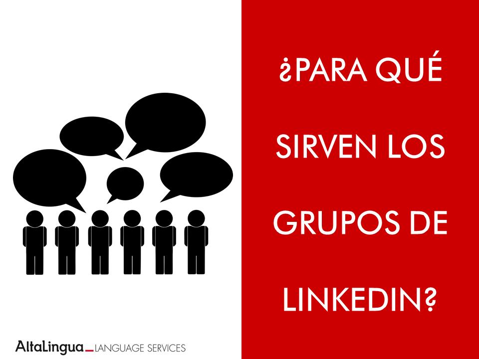 Grupos para traductores