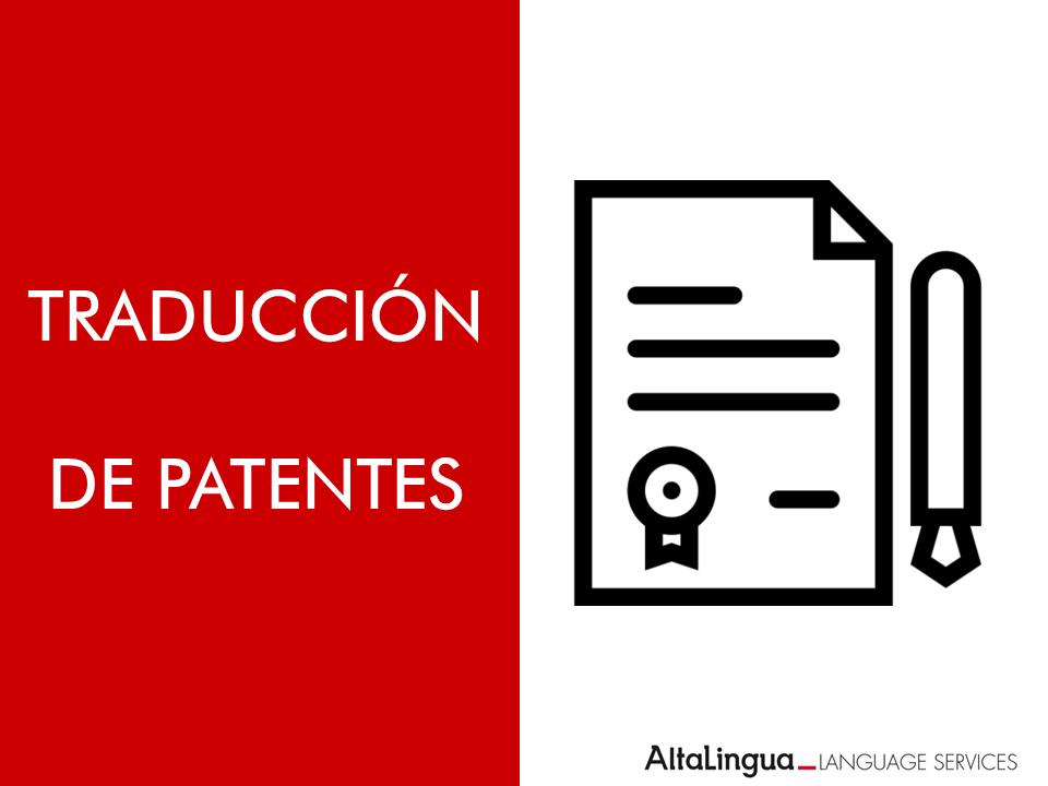 Traducción de Patentes