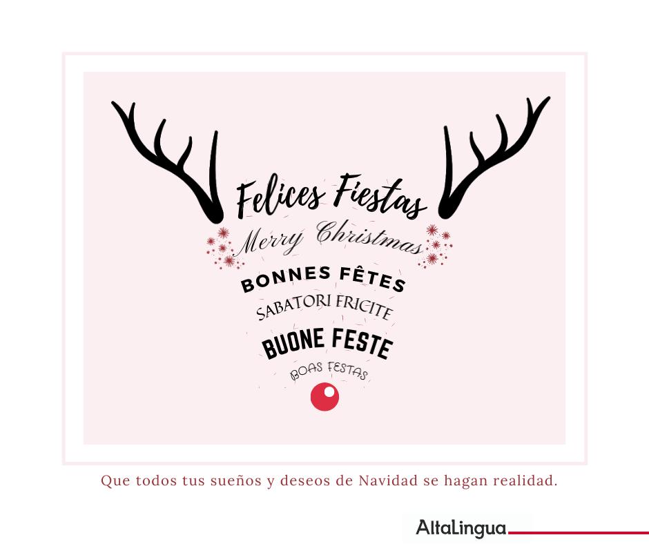 La Navidad no entiende de traducciones