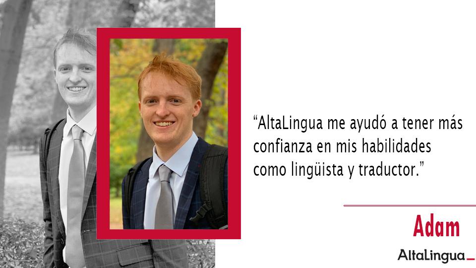 Desarrolla tus habilidades como traductor.