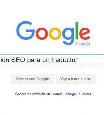 Traductor SEO: Redacción SEO para un traductor.