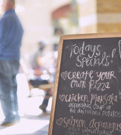 Traducción de menús y cartas para restaurantes